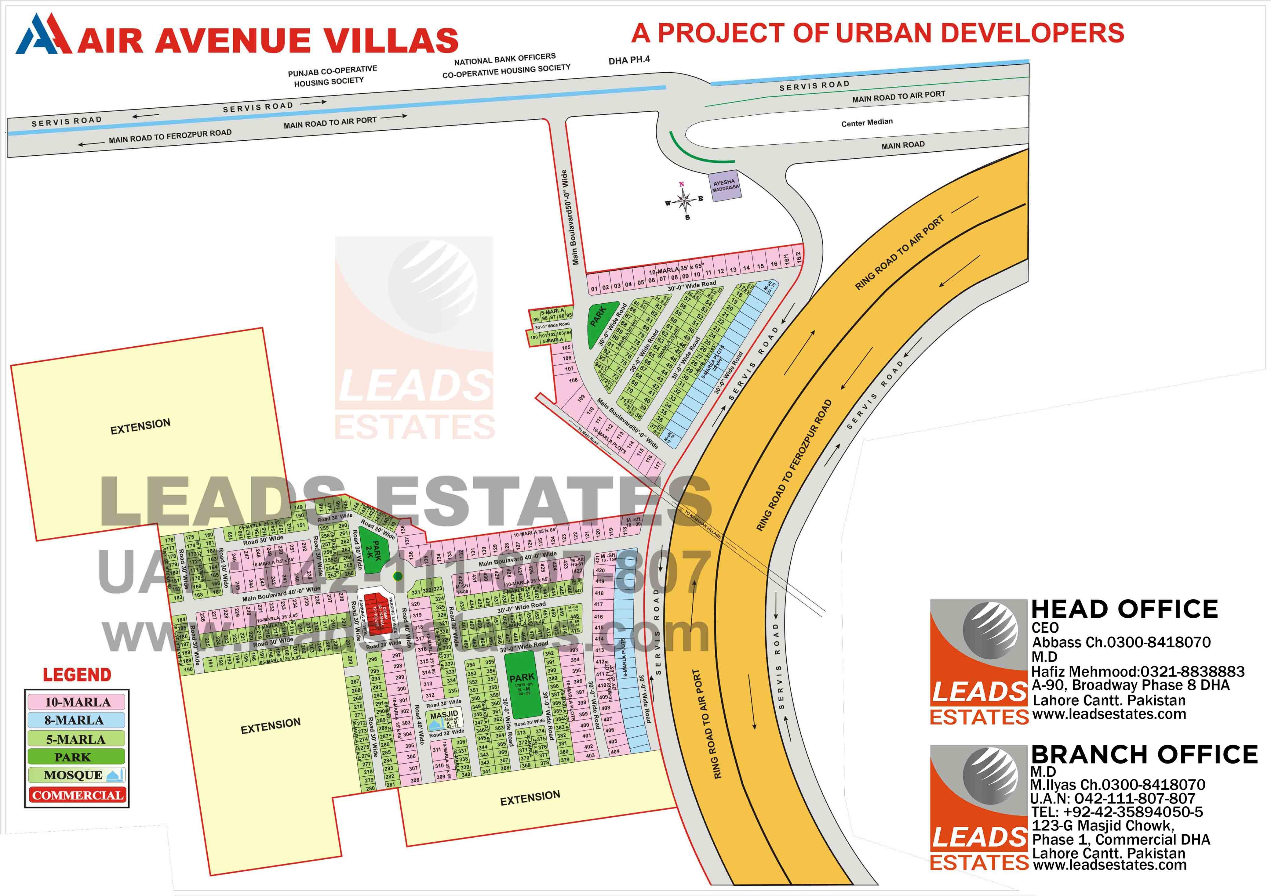 Air Avenue Villas