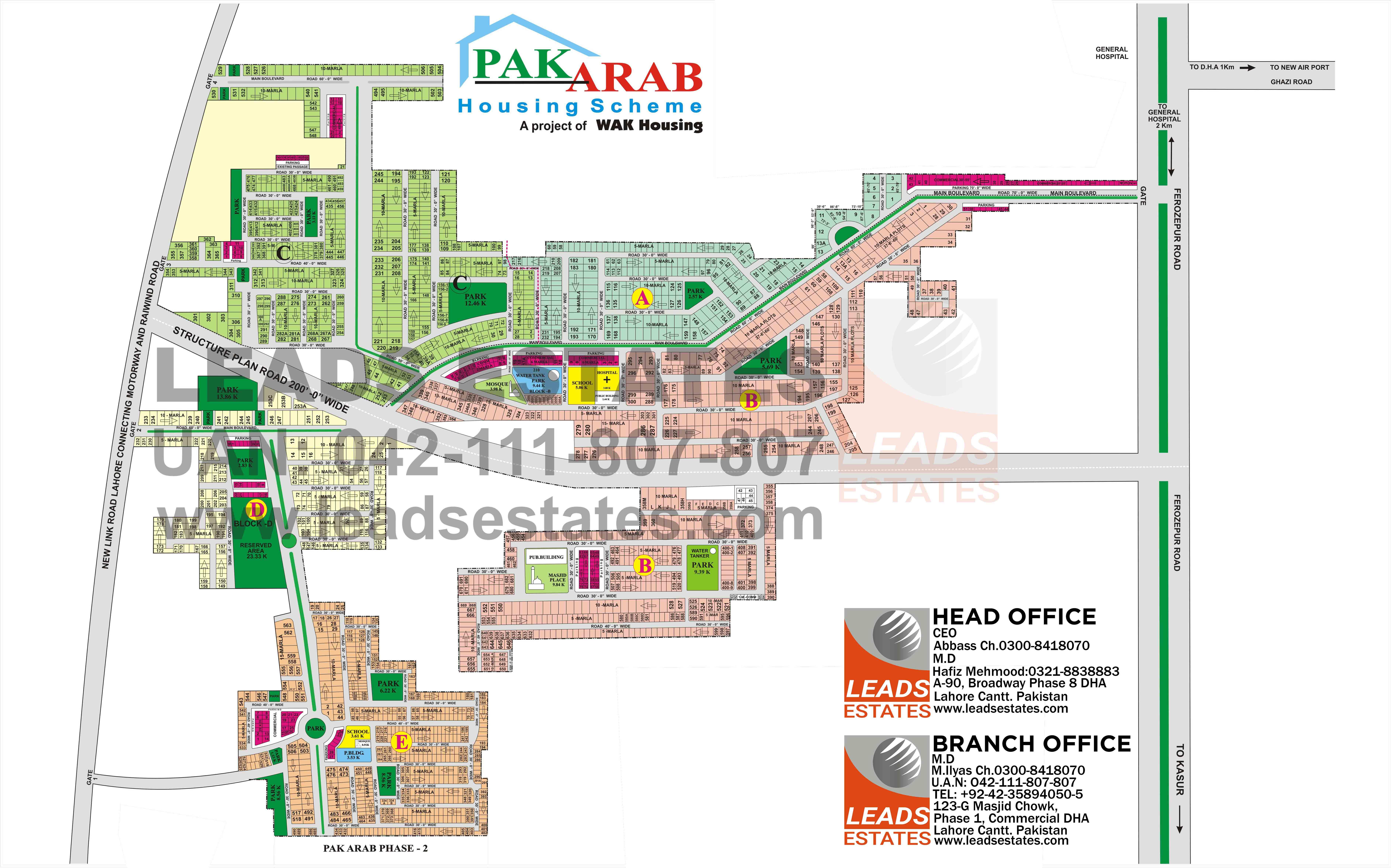 Pak Arab Town