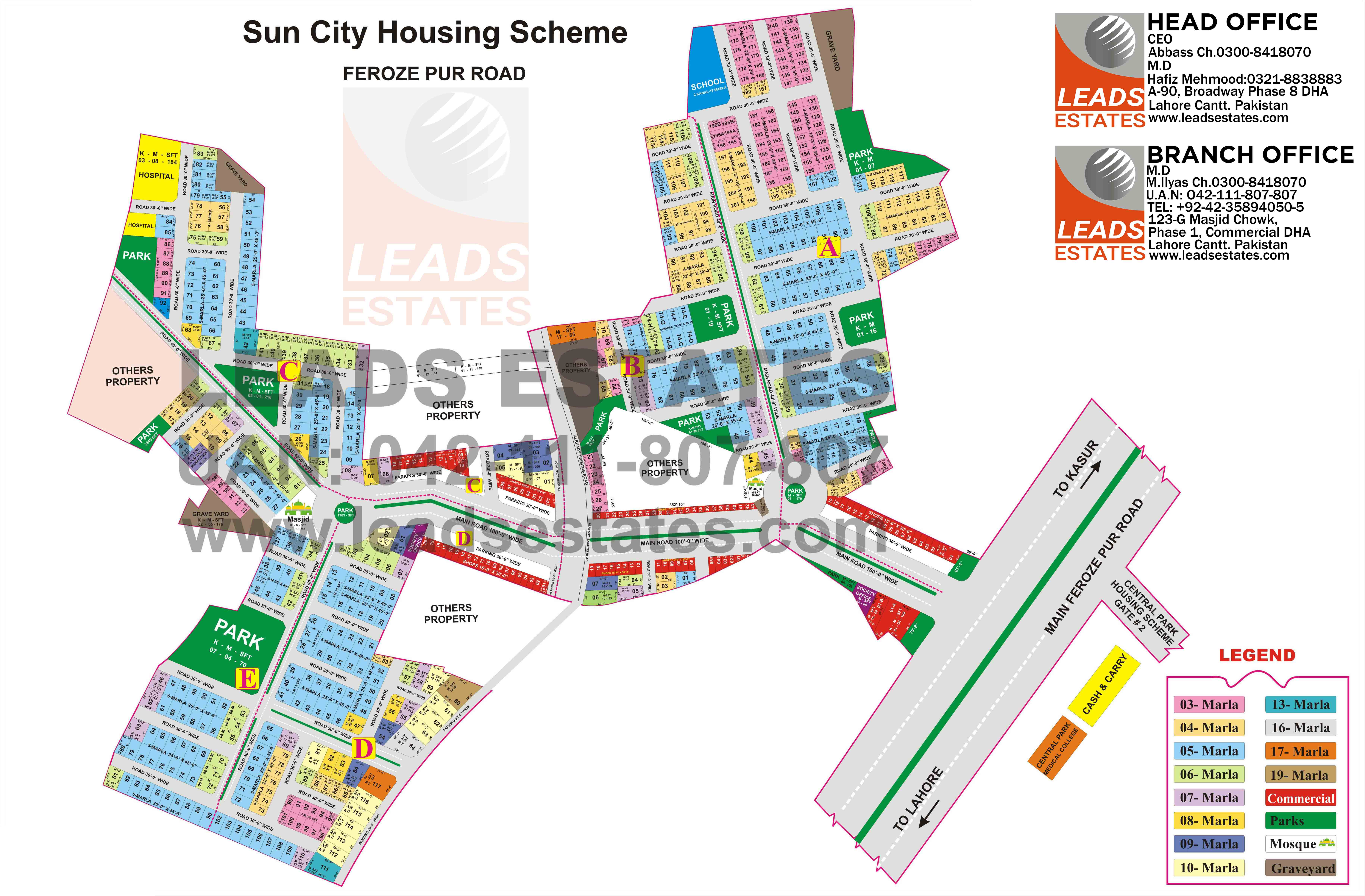 Sun City housing