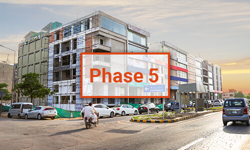 DHA Lahore Phase 5 Map